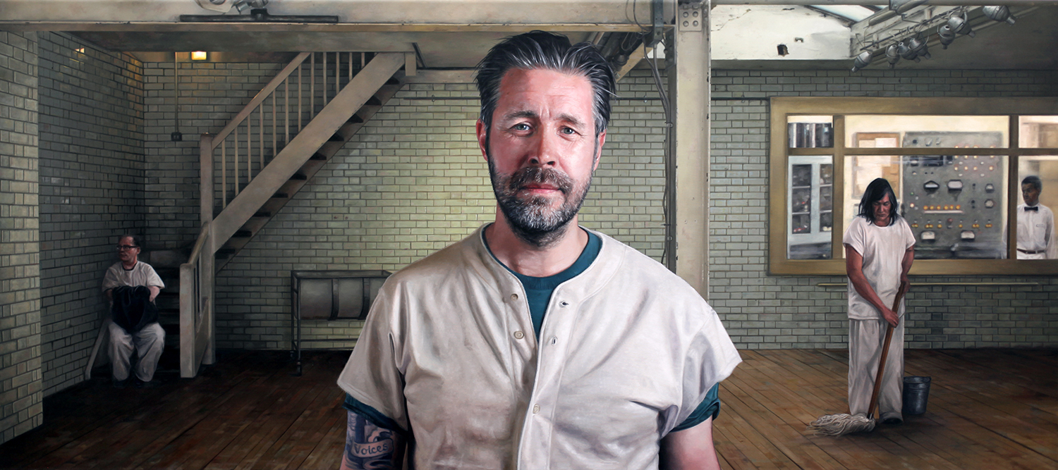 Joe Simpson Figurative oil painter #artpeople